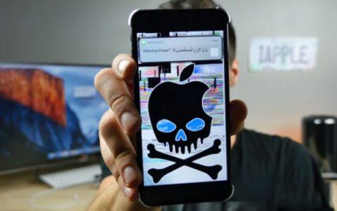 一条短信就可以破坏一部iPhone