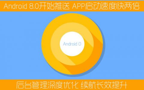 Android8.0开始推送 APP启动速度快两倍