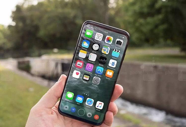 别摔了 iPhone8 维修价格顶半部手机